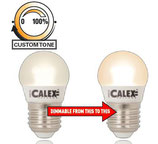 Calex Dimm-to-warm Spherical Lampe, 5.5 Watt, 220~240Volt, E27