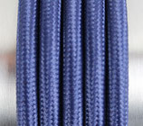 Stoffkabel  3x0,75mm² blau