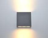 Aussenleuchte Wandmontage, Beta direkt/indirekt strahlend LED 8Watt IP54