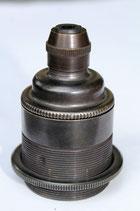 Vintage E27 Fassung, Farbe Bronze