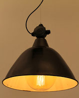 Emaille Industrielampe aus alten Zeiten, Fassung E40