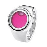 """Silberring """"Capri"""" pink"""