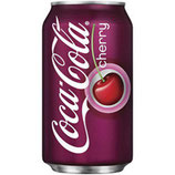 Coca Cola Cherry 355ml US Can