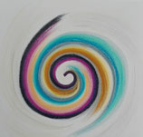 the power of the spiral, now 30x30cm