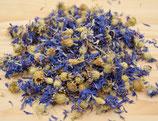 Kornblumenblüten blau