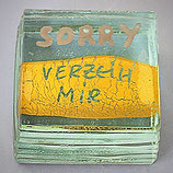 Paperweight - SORRY - Verzeih mir