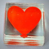 Paperweight - rotes Herz