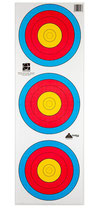 BLASONS FITA 40 CM 3-SPOT VERTICAL PAPIER ARME Paquet de 100
