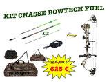Kit chasse arc à poulies BOWTECH FUEL