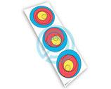 Blason tri spot Practice  40 cm SOCX ( Paquet de 10)