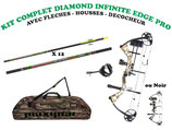 Kit chasse arc à poulies DIAMOND Infinite Edge Pro