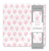 """Musselin """"Spot Tree"""" pink"""