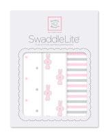 "Swaddle Lite ""Little Bunny"" pastel pink"