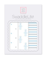 "Swaddle Lite ""Little Bunny"" pastel blau"