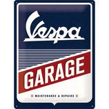 Vespa  GARAGE 30x40cm
