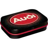 Audi - Logo Red Shine  MINT BOX  4x6x1,6cm  /  81419