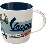 Vespa a small car Tasse  8,5x9cm, 340ml