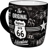 The ORIGINAL Highway 66  Tasse  8,5x9cm, 340ml