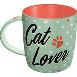 Cat Lover Tasse  8,5x9cm, 340ml