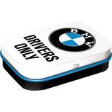 BMW - Driver Only White  Mint Box  4x6x1,6cm  /  81344