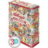 Kellogg`s  The Original Collage    Vorratsdose XL / 4L / 30308