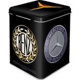 Mercedes Benz - Logo Evolution  Tea-Box 7,5 x 7,5 x 9,5cm  /  31309