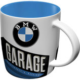 BMW Garage  Tasse  8,5x9cm, 330ml  /  43035