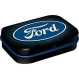 Ford - Logo Blue Shine  MINT Box   4x6x1,6cm  /  81417