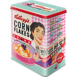 CORN FLAKES  - Happy Hostess  Vorratsdose L  10 x 14 x 20cm   3L