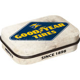 Goodyear Tires - Logo White Mint Box  4x6x1,6cm