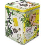 Selected Herbs  Tea-Box 7,5 x 7,5 x 9,5cm  /  31311