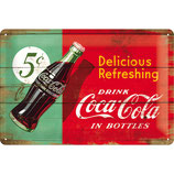 Coca-Cola Delicious Refreshing 30x20cm  /  22229