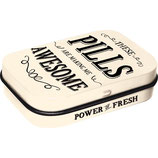 Awesome Pills - Word Up  Mint Box  4x6x1,6cm