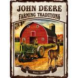 JOHN DEERE FARMING TRADITIONS 30x40cm