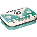 VW Bulli - Adventure Awaits   MINT BOX    4x6x1,6cm