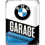 BMW - Garage  15x20cm  /  26212