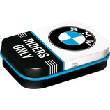 BMW - Riders Only  Mint-Box 4x6x1,6cm  /  81408