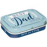 Best DAD Ever MINT BOX 4x6x1,6cm  /  81377