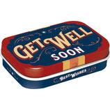 Get Well Soon - Mint Box 4x6x1,6cm  /  81398