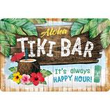 TIKI BAR - Open Bar 30x20cm  /  22251