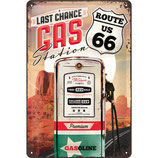 Route 66 - Gas Station  20x30cm  /  22215