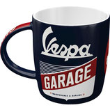 Vespa  GARAGE Tasse  8,5x9cm, 340ml