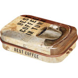 Best Coffee in Town - Coffee & Chocolate    MINT BOX    4x6x1,6cm