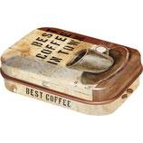 Best Coffee in Town - Coffee & Chocolate   MINT BOX   4x6x1,6cm  /  81254