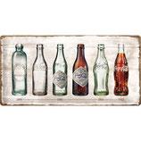 Coca-Cola - Bottle Timeline  50x25cm  /  27021