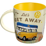 VW  GET AWAY Tasse  8,5x9cm, 340ml