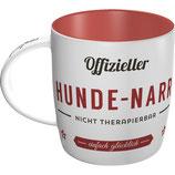 Offizieller  HUNDE-NARR Tasse  8,5x9cm, 330ml