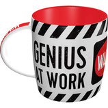 GENIUS AT WORK Tasse  8,5x9cm, 330ml  /  43030