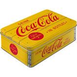 Coca-Cola - Logo Yellow   Vorratsdose Flach  L / 2,5L / 30725