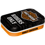 Harley-Davidson  Riders Only  Mint Box  4x6x1,6cm